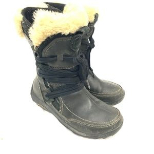 Merrell Nikita Waterproof Leather Winter Boots 7